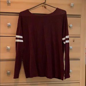 Maroon Ahh-mazingly Soft AE sweater